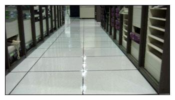 清潔施工前後完整比對-辦公室高架地板清洗上臘施工完成