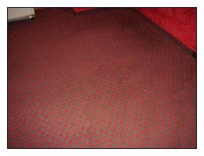 地毯乾洗清潔作業-地毯清潔前現場照片