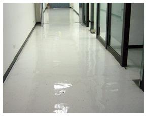 地板清洗上臘成品