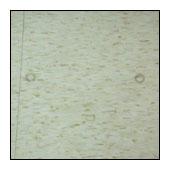 塑膠地板髒污型態-沾粘在地板表面的垃圾碎屑